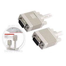 5m Oro Vga Svga Macho A Macho Monitor De Pc Lead Cable