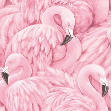 Rasch Tapete 803211 Lucy in the Sky Flamingo Carta da parati di design tessuto
