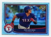 2018 Topps Big League SHIN-SOO CHOO #185 SILVER REFRACTOR #/100 SP Texas Rangers