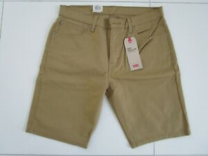 Levi's Men's Blue 505 Mustard Cotton Twill Stretch Shorts  Size: 32