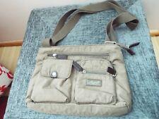 SPIRIT LIGHTWEIGHT SMALL BROWN HANDBAG CROSS BODY SHOULDER BAG Excell Condition