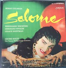 STRAUSS-SALOME Birgit NILSSON Georg SOLTI-LONDON RECORDS 2-LP BOX SET ENGLAND