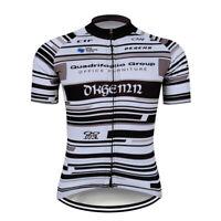 Mens Short Sleeve Cycling Jerseys Team Jersey Women Shirt White Full Zipper