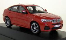 Herpa 1/43 Scale - BMW X4 F26 Melbourne Red Metallic Diecast Model Car