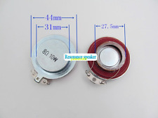 2pcs 44mm 8ohm 8Ω 10W Vibration speaker Resonance horn Bass audio loudspeaker