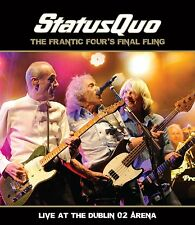 STATUS QUO - THE FRANTIC FOUR FINAL FLING O2 ARENA DUBLIN: 2CD SET (September 1)