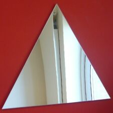 Triangle Mirrors (3mm Acrylic Mirror, Several Sizes Available)