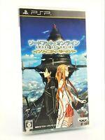 Sword Art Online: Infinity Moment - Sony PSP JAP Japan complet