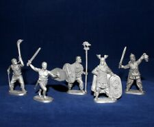 40 mm Metal Soldier Set - Celts Warriors   - 5 figures  EK Castings #kit40-07