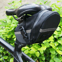 1pc Bike Bicycle Under Seat Bag MTB Waterproof Cycling Pouch Storage Bag