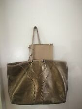 Authentic Yves Saint Laurent YSL Neo Reversible Tote Bag x Neverfull Large