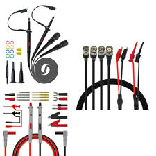 P1260D Multimeter Oscilloscope Banana BNC Test Lead Probe Kit Alligator Clip
