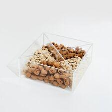 New listing Clear Acrylic Treat Bin