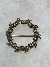 14K Rose Gold Antique Seed Pearl Pin