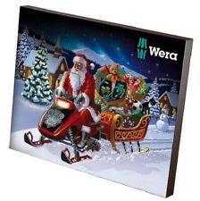 Wera 05136600001 Advent Calendar 2019 10 Years Edition Tool Bag Bit Set