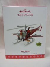 2017 Hallmark Keepsake Ornament Batcopter Batman B5