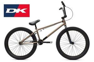 2021 DK Cygnus 24 STREET BMX BICYCLE ZINC