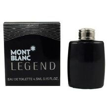 Mini Mont Blanc Legend by Mont Blanc 0.15 oz EDT Cologne for Men New In Box