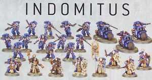 Indomitus Space Marines Auswahl Warhammer 40k