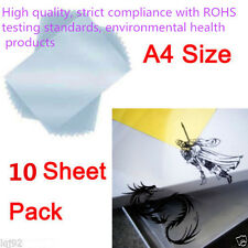 10x A4 Inkjet & Laser Printing Transparency Film Photographic Paper For DIY PCB