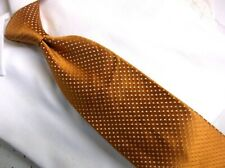 "Ermenegildo Zegna Peach Color Print made in Italy  3.75""W/ 60""L"