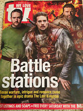 WE LOVE TV MAGAZINE OCT 2015 MATTHEW MACFADYEN ALEXANDER DREYMON RICKY WILSON