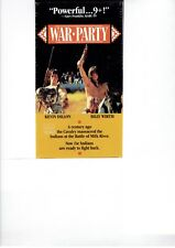 War Party VHS (Still Sealed) OOP **BRAND NEW**
