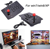 C4B1 Acrylic USB Arcade Fighting Stick Joystick Gaming Gamepad Video Game For PC