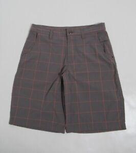 """Lululemon Men's Kahuna Short 11"""" Color Soot Coral Size 32"""