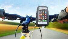 """Bike Phone Holder, Bicycle Mount With Waterproof Mobile Case Up To 5.5"""" Screen."""