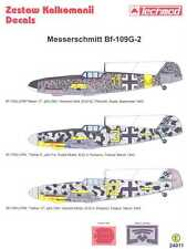Techmod Decals 1/24 MESSERSCHMITT Bf-109G-2 w/Masks