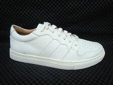 POLO RALPH LAUREN - JESTON -Men's Casual Shoes Sneakers -Cream Leather - Size 12