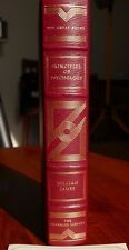 Franklin Library Great books West world Principles of Psychology William James