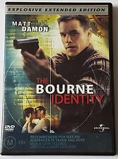 THE BOURNE IDENTITY DVD EXPLOSIVE EXTENDED VERSION (#DVD00338)