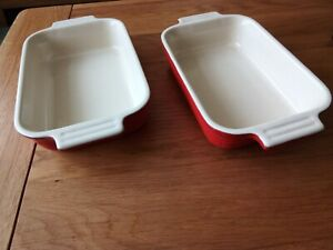 Le creuset serving/ individual lasagne dishes