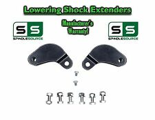 2002-2008 Ram 1500 2WD 4WD Rear Shock Extenders Extensions Brackets Lowering Kit