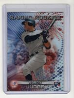 Aaron Judge 2017 Bowman's Best Raking Rookies Card #RR-AJ SP (New York Yankees)