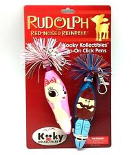 "KOOKY KLICKER RUDOLPH THE RED-NOSED REINDEER ""Clarice"" Christmas GIFT PARTY Pens"