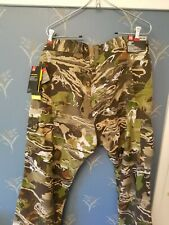 Under Armour Field Ops Pants Forest Camo Hunting NWT Mens Size 40x30 1313212-940