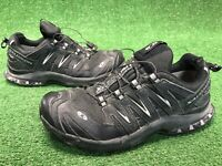 Salomon XA3D Ultra 2 Mens Size 8 Trail Hiking Running Walking Shoes BLACK