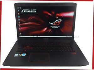 "17.3"" ASUS ROG GL752 Gaming Laptop Intel i7 Quad 16GB 256GB SSD GTX 960 Win10"