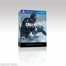 Call of Duty Ghosts Hardened Edition Sony PlayStation 4 COD PS4 Brand New Sealed
