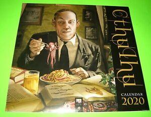 Cthulhu Wall Calendar 2020 (Art Calendar)