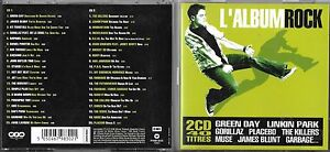 2 CD 40T GREEN DAY/LINKIN PARK/PLACEBO/GARBAGE/MUSE/ASH/R.E.M/RAPHAEL/DAFT PUNK