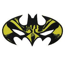 BATMAN Super Hero Mark Embroidered Iron On Comics Applique Patch Cartoon Movie