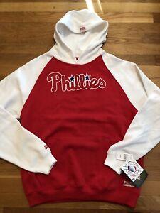 Philadelphia Phillies Youth Hoodie Size Large Kids Nwt MLB Stitches