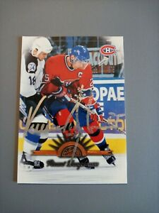 1997-98 Leaf Vincent Damphousse Canadiens Auto Autographed Signed Card