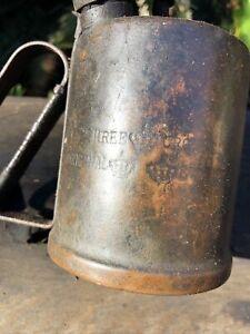 Vintage Blow Torch Kerosene THREE CROWNS SWEDEN old tool