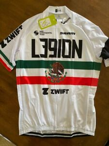 L39ION Cycling Team Jersey LARGE Legion of Los Angeles California Mexico Zwift