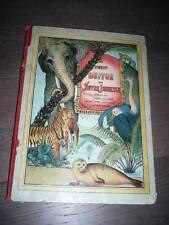 LE PETIT BUFFON DE NOTRE JEUNESSE D'HERVILLY PLANCHES COULEURS 1900